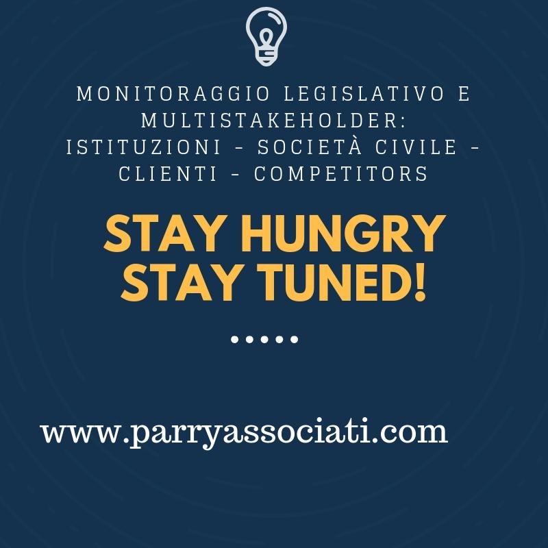 monitoraggio legislativo e multistakeholder