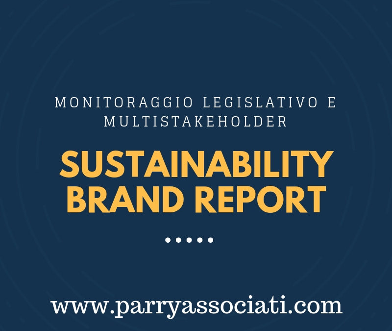 Sustainability Brand Report, uno strumento per la vostra strategia
